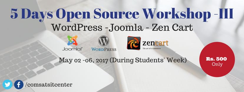 5 Days Open Source Workshop